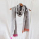 Cashmere Scarf - Isan Pink