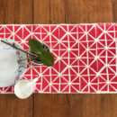 Nomad handwoven cotton table runner