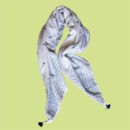 Dotted Lines summer scarf in Khadi